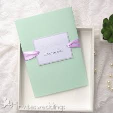 Mint Green Wedding Classic Mint Green Spring Pocket Wedding Invites Iwpi015 Wedding