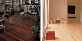 hardwood flooring vs light coles flooring