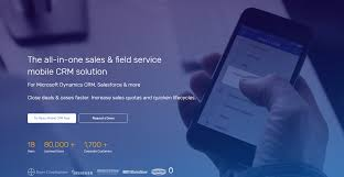 resco cloud sales u0026 field service mobile solutions for microsoft