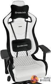 Net Chair Noblechairs Epic Series White Gaming Chair Review Kitguru