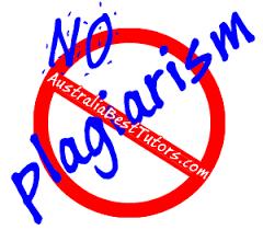 No Plagiarism at AustraliaBestTutors com