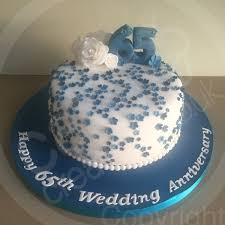 65 wedding anniversary cake creations on 65th wedding anniversary cake