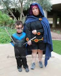 halloween teen titans group costume