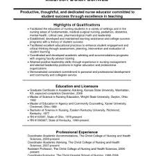 resume resume exles resume sle of nursing student best of sle nursing student