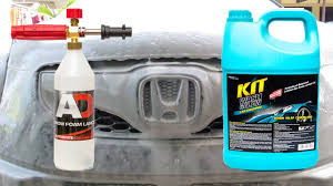 and glow snow foam lance test kit wash and glow