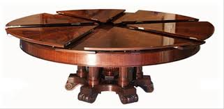 expandable round dining room tables attractive expandable round dining room table of nice design