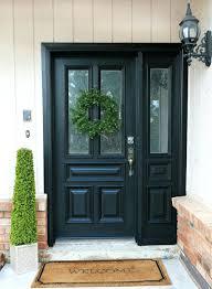 house front door design kerala style facades doors number decal