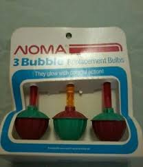 vintage bubble light replacement bulbs 4 vintage noma replacement bubble light bulbs candelabra base c7 red