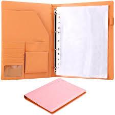 Portfolio Folder For Resume Plinrise High Grade Multifunction Letter Size Padfolio Resume