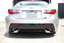 lexus rc f exhaust sound amazon com invidia hs14lrf3th q300 cat back exhaust mid pipe
