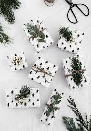 minimal gift wrapping ideas free printable wrapping ideas