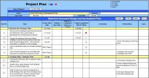 Excel Template For Project Planning Excel Template Planning Engineer Est