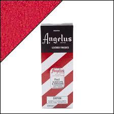 red suede dye angelus brand suede dye custom sneakers shoe care