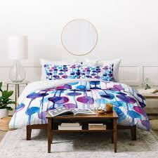 cmykaren abstract watercolor comforter deny designs