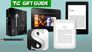 gift guide gadgets and an app for digital bookworms and writers