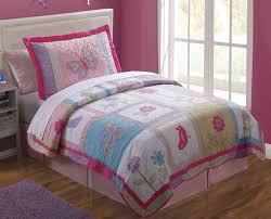 Princess Comforter Full Size Butterfly Furry Quilt Set In Twin And Full Sizes For Girls With