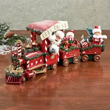 clothtique santa all aboard clothtique santa figurine set