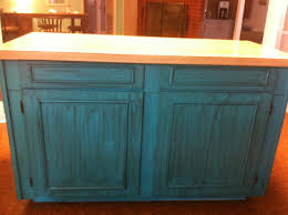 distressed kitchen islands teal turquoise island kitchen distressed for the home