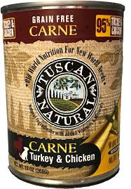 tuscan natural carne grain free turkey u0026 chicken canned dog food