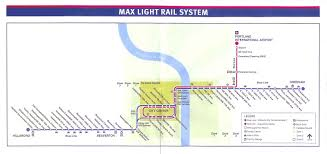 portland light rail map the zehnkatzen times the evolution of the trimet max map 3 along
