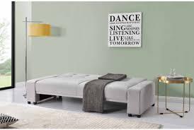 Cheap Modern   Seater Fabric Sofa Bed Light Grey Sleep Design - Cheap furniture chicago