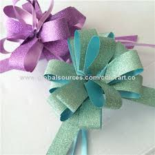 Gift Wrap Wholesale - wholesale craft gift wrap pull string ribbon pom pom bows global