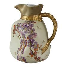 austrian vases antique antique carlsbad austria victoria porcelain art nouveau blush