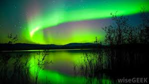 what creates the northern lights what is solar wind with pictures
