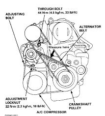 1999 honda accord alternator 1992 accord few minutes i tighten up the belts