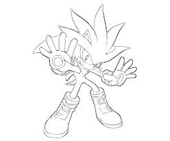 free printable sonic hedgehog coloring pages kids 16547