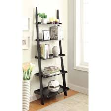 uncategorized 5 tier ladder shelf black ladder shelves ikea