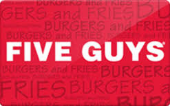 discount gift card five guys gift card discount 11 67
