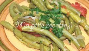 cuisine haricot vert haricots verts à l étouffée recette accompagnement haricot vert