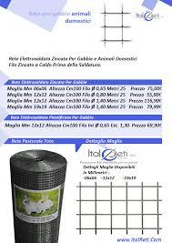 rete metallica per gabbie rete per gabbie 12x12 filo 0 80 italreti produzione rete per