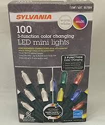 sylvania lights 3 function color changing