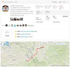 Map Of Tour De France by Tour De France 2017