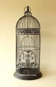 wedding arch kmart bird cage wedding card holder ivory gold silver birdcage