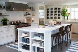kitchen island with shelves kitchen island with bookshelves ideas
