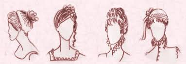 hair style of 1800 regency romantic hairstyles and hats 1800 1840 fashion history