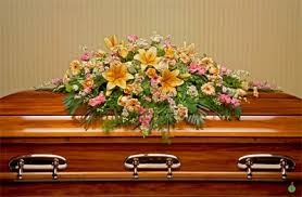casket spray heavenly blooms casket spray in charleston sc the greenery florist