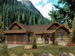Home Plans Ranch Style Ranch Style Log Home With Wrap Around Porch