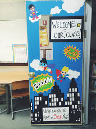 backyards back school door decorating ideas two apples day photo