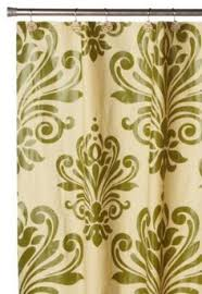 Amazon Com Shower Curtains - amazon com alison fabric shower curtain olive lime green brown