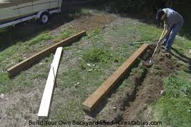 How To Build A Shed Ramp Concrete by How To Build A Shed Storage Shed Building Instructions