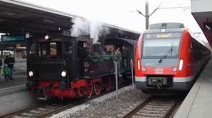 Bad Cannstatt Bahnhof Dampfzug T3 930 U0026 S Bahn Et 430 Abfahrt Bad Cannstatt Youtube