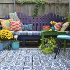 Patio Area Rugs Top 10 Stencil And Painted Rug Ideas For Wood Floors