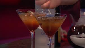 martini litchi video vodka espresso martini martha stewart