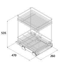 panier coulissant pour meuble de cuisine panier tournant pour meuble cuisine meuble de cuisine