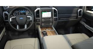 suv ford expedition 2018 ford expedition interior