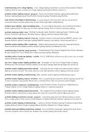 portfolio landscape lighting manual iron blog